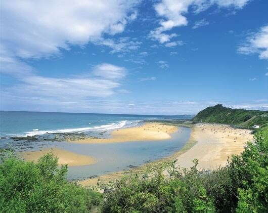 plage mayarco saint jean de luz acotz