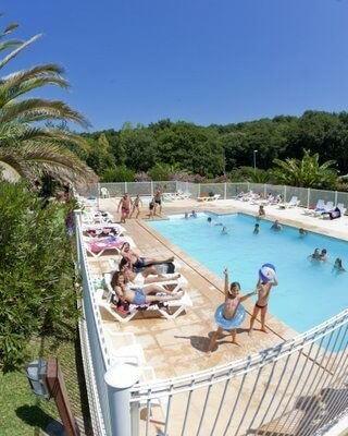piscine du camping dorrondeguy à hendaye