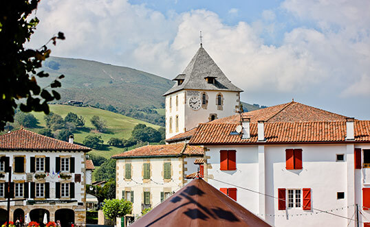 camping pays basque sare