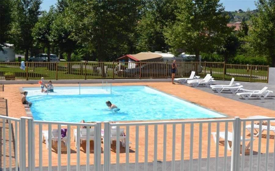 camping hasparren avec piscine